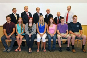 Board Of Trustees At Wor-Wic Community College Award Nine High School Graduates With Scholarships
