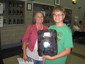 Pocomoke High School Students Receive Protective Laptop Covers