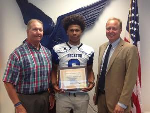 Bank Of Ocean City Names Darion McKenzie SD High School Football MVP Of The Week