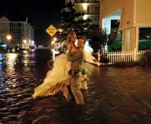 Local Couple's Ocean City Wedding Goes Off, Despite Storm Challenges