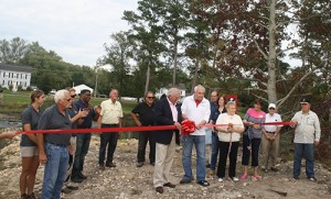 Community Celebrates Bishopville Pond Restoration Effort