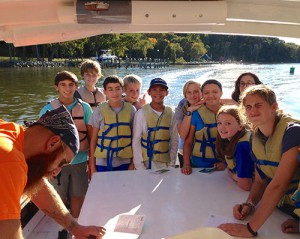 Worcester Prep Eighth Graders Bond With Nature And Each Other