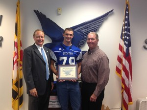 James Englishman, Bank Of Ocean City's SD High School Football MVP Of The Week