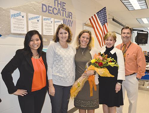 11/25/2015 | SD High School Math Teacher Brenda Hommel Honored By