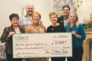 O'Hare Real Estate Team Of Berkshire Hathaway HomeServices PenFed Realty Hosts Open House Fund-raiser