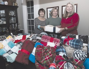 Democratic Women's Club Of Worcester County Donates 30 Lap Blankets To Coastal Hospice