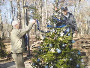 OP Department Of Recreation And Parks Hosts Official Lighting Of The Trees At White Horse Park