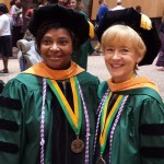 Althea Foreman and Lisa Bayles