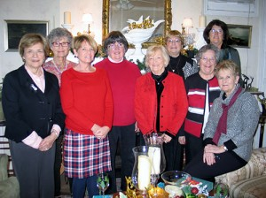 """Literary Ladies By The Sea"" Book Club Celebrates Year At Luncheon Held At An Inn On The Ocean"
