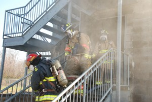 Elected Officials, Media Members Get Up Close Look At Fire Training