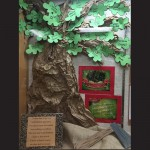 An example of the faith-based education being put to practical use within the Spanish curriculum is the second grade's interpretation of the Barren Fig Tree parable that is on display in the school's front office. Submitted Photo