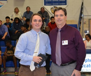 SD High School Recognizes Wade Wilkins As VIP Of The Game