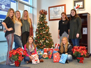 SD High School National Honor Society Adopts Family For The Holidays Through Worcester G.O.L.D.