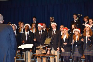 Worcester Prep Seniors Preform Let It Snow During 20th Annual Holiday Concert