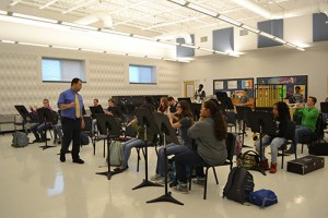 Teacher Rebuilding Pocomoke Band Program