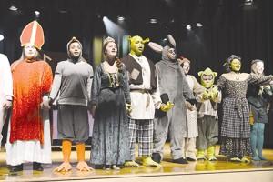 Pocomoke Students Present Shrek Saturday Night