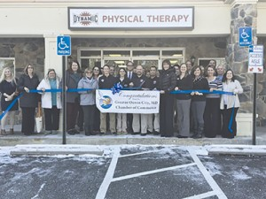 Dynamic Physical Therapy Officially Open With Ribbon-cutting Ceremony