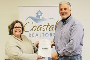 O'Donnell Wins Coastal Association Of Realtors OC Cares Blood Drive Drawing