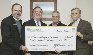 M&T Charitable Foundation Presents $5,000 Check To Support Building Coastal Hospice At The Ocean