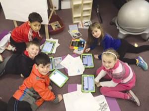 Showell Elementary Students Create Keynote Multimedia Presentations