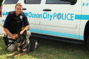 Police Search Dogs Work Overtime During Threats