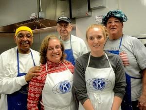 Kiwanis Club Of Greater Ocean Pines-Ocean City Holds Annual Winter Pancake Breakfast