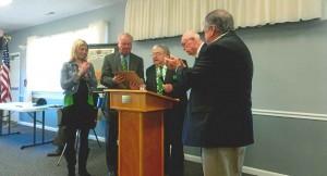 Ocean City Hibernians Present Annual Awards
