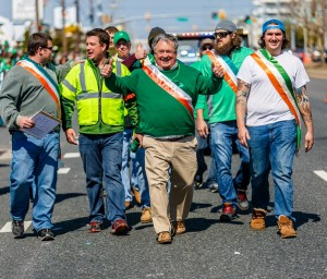 Q&A With Buck Mann, Who Helped Grow Ocean City's St. Patrick's Day Parade From Humble Roots