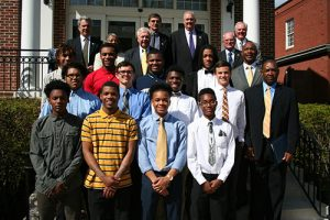 Worcester County Commissioners Present Commendation To State Champion Pocomoke High School Basketball Team