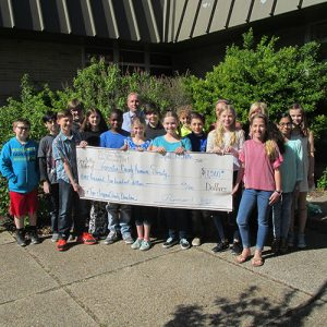 Berlin Intermediate School Students Raise $1,500 For Worcester County Humane Society