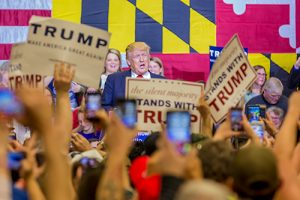 Trump Delivers Promises Before 3,000 Inside Decatur