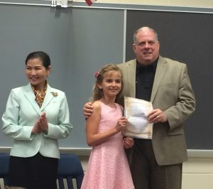 Governor Visits OC Elementary