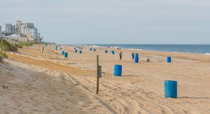 Orange Smoking Receptacles No More In Ocean City
