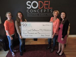 SoDel Cares Donates $4,000 To Parent-teacher Organization At Lord Baltimore Elementary School