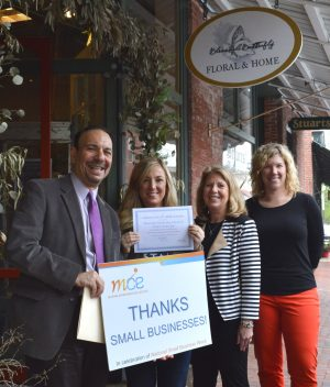 Officials Tour Berlin To Recognize Small Business Week
