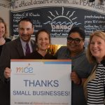 Baked Dessert Café owner Robin Tomaselli was presented a token of appreciation as part of National Small Business Week by Maryland Capital Enterprises. Submitted Photo