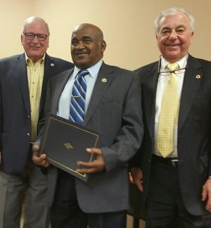Purnell Honored For Citizenship