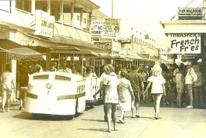 The Boardwalk Train, As It Was Called And Still Is By Many