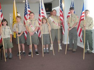 Ocean City Elks Lodge #2645 Celebrates Flag Day