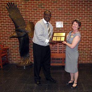 SH Senior Marlin Dale Presented With Jesse Klump Memorial Scholarship