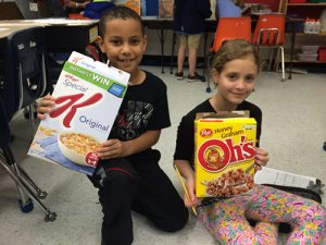Showell Elementary Third Graders Compare Food Labels To Learn About Nutrition