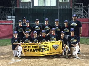Mid-Atlantic Shockers Under-13 Team Mid-Atlantic Regional Champs