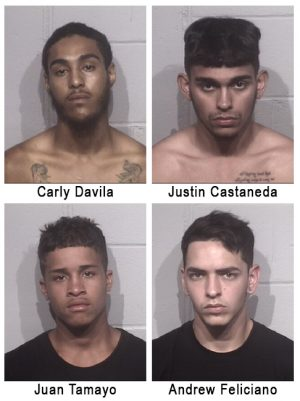 Burglary Suspects Nabbed After Police Track Stolen Credit Card
