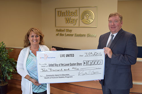 07/21/2016   PNC Bank Grants $10,000 To United Way   News