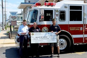 American Legion Donates $5,000 To OC Fire Department
