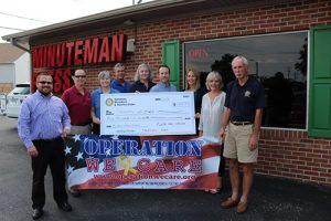 Local Rotary Clubs Present $4,500 Donation To Operation We Care