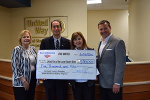 Bank Of American Presents United Way With Grant