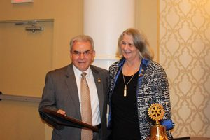 """Dr. Stephen L. Capelli Recognized As """"Rotarian Of The Year"""""""