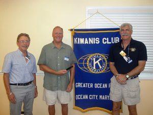 Tommy Vach Of OC Surf Club Guest Speaker At Kiwanis Club Meeting
