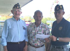 American Legion Synepuxent Post 166 Donates $2,000 To The Atlantic Club